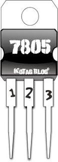 IC regulator  tegangan  seri 7805